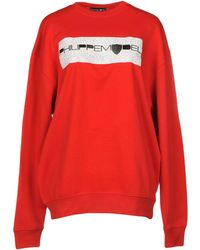 Philippe Model Sweatshirt - Red