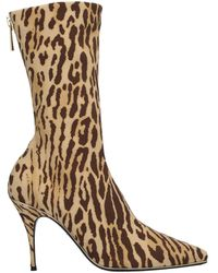 Zimmermann Ankle Boots - Natural