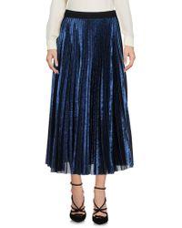 Aglini 3/4 Length Skirt - Blue