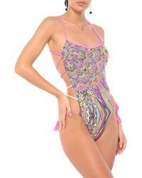 Miss Bikini Luxe One-piece Swimsuit - Multicolour