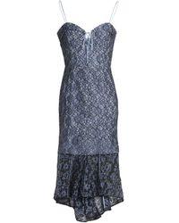 Nicholas Knielanges Kleid - Blau