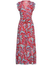 Pepe Jeans Long Dress - Red
