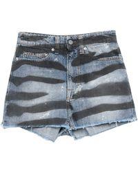 HTC Denim Shorts - Blue