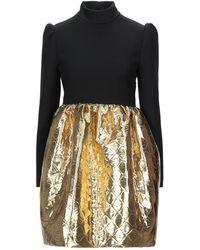Celine Short Dress - Black