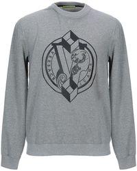 0a75fd6cfdd8 Lyst - Pull à logo poitrine brodé Versace Jeans pour homme en ...