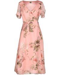 A.m. - 3/4 Length Dresses - Lyst