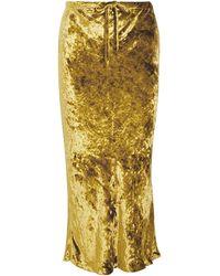 Khaite 3/4 Length Skirt - Yellow