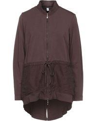 European Culture Sweatshirt - Brown