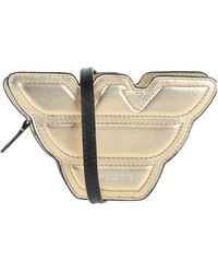 Emporio Armani Cross-body Bag - Metallic