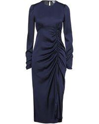 Berna 3/4 Length Dress - Blue