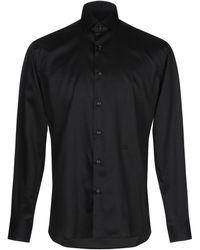 Tru Trussardi Camisa - Negro
