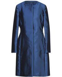 Botondi Milano Overcoat - Blue