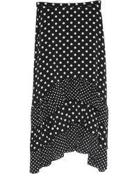 BCBGMAXAZRIA Midi Skirt - Black