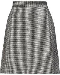 Harris Wharf London Midi Skirt - Black