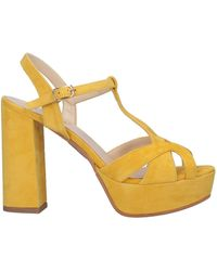 Ovye' By Cristina Lucchi Sandals - Yellow