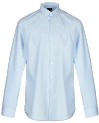 4fecc03991baa Lyst - Fendi Shirt in Brown for Men