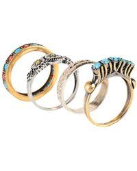 Iosselliani Ring - Metallic