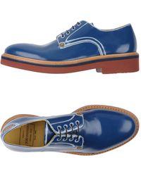 Paciotti 308 Madison Nyc Lace-up Shoe - Blue