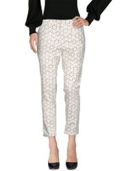 AT.P.CO Casual Trousers - White