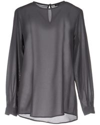 MNML Couture Blouse - Gray