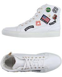 Casadei High Sneakers & Tennisschuhe - Weiß