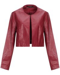 La Fee Maraboutee Suit Jacket - Red