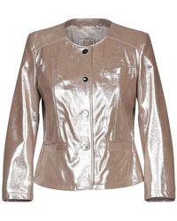 Vintage De Luxe Suit Jacket - Brown
