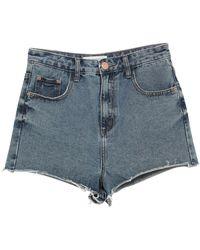 Glamorous Short en jean - Bleu