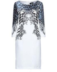 Class Roberto Cavalli Kurzes Kleid - Weiß