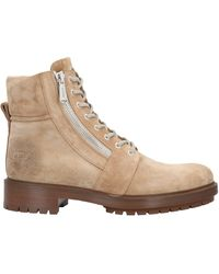 Balmain Ankle Boots - Natural