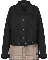 Marcelo Burlon Denim Outerwear - Black