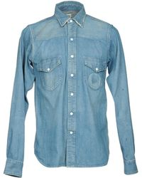 Chimala Chemise en jean - Bleu