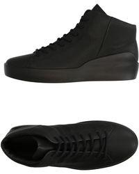 Ecco Sneakers abotinadas - Negro