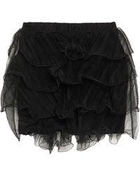 Souvenir Clubbing Mini-jupe - Noir