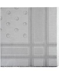 Armani Square Scarf - Gray