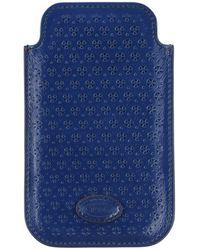 Tod's Hightech Accessoire - Blau