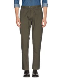 Officina 36 - Casual Pants - Lyst