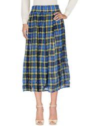 Aspesi - 3/4 Length Skirt - Lyst