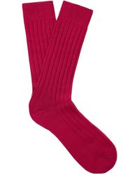 Pantherella Short Socks - Red