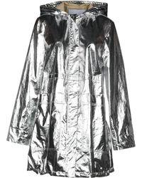 Paco Rabanne - Overcoat - Lyst