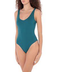 Fisico One-piece Swimsuit - Blue