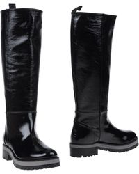 Erika Cavallini Semi Couture Boots - Black