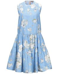 N°21 Knee-length Dress - Blue