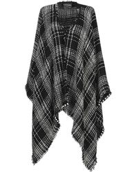 Fontana Couture Poncho - Negro