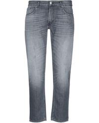 Department 5 Denim Trousers - Grey