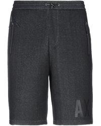 Armani Exchange Shorts & Bermudashorts - Schwarz