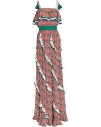 Talitha Long Dress - Orange