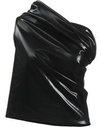 Rick Owens Lilies Short Dress - Black