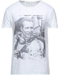 1921 Jeans T-shirts - Weiß