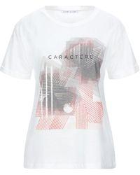 Caractere T-shirt - White